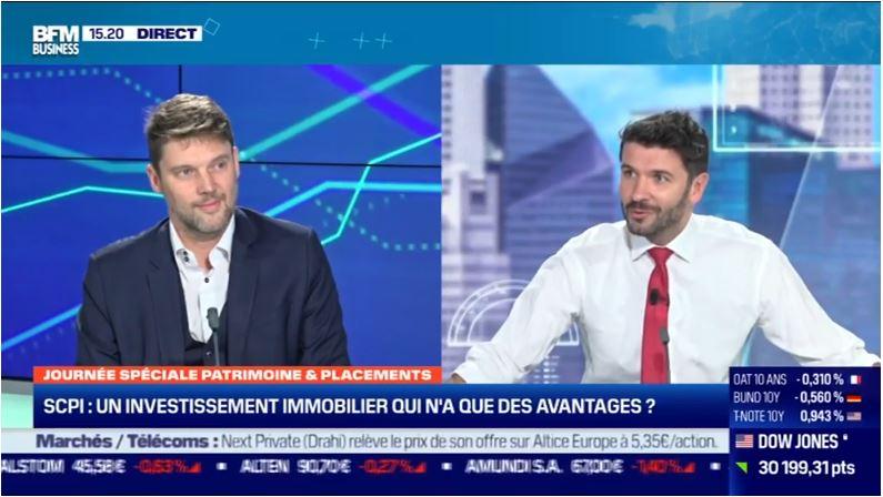 Marc Sartori, CEO de Deeptinvest échange avec Guillaume Sommerer sur les SCPI