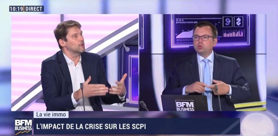 Marc Sartori; CEO de Deeptinvest échange avec Cédric Decoeur sur les SCPI