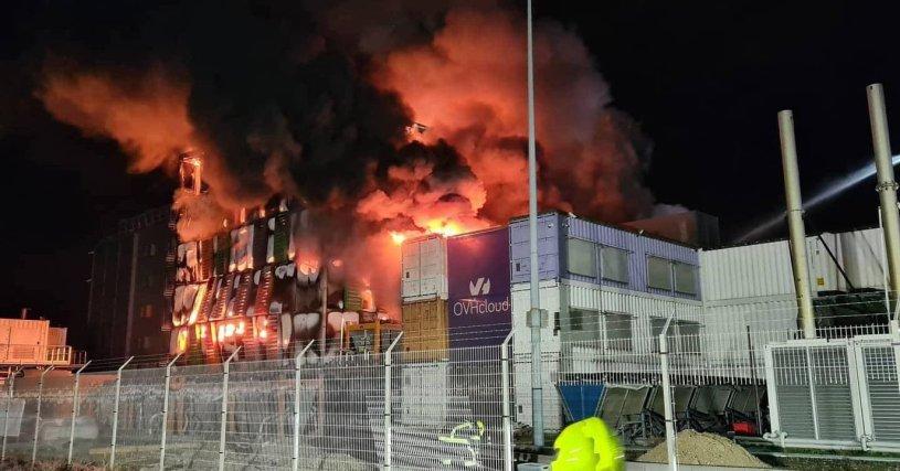 Interruption temporaire de notre serveur suite à l'incendie des locaux OVH Strasbourg
