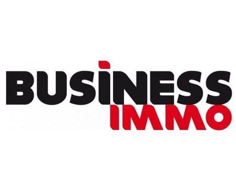 Logo Business Immo pour la revue de presse.